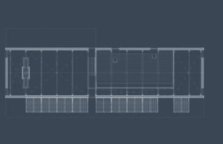 The floor plan for the Silvernails loft