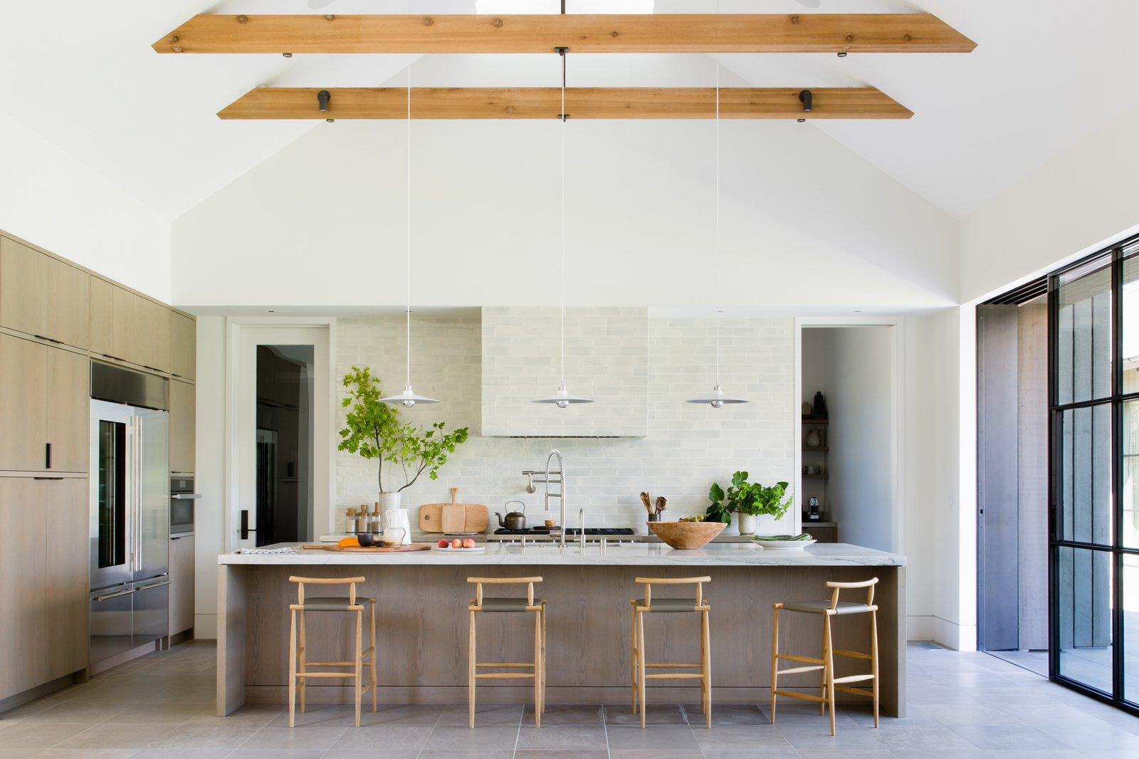 Calistoga Residence kitchen