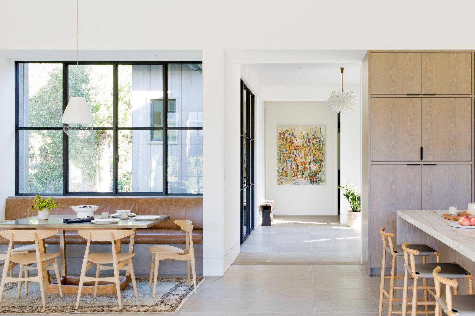 Calistoga Residence dining room