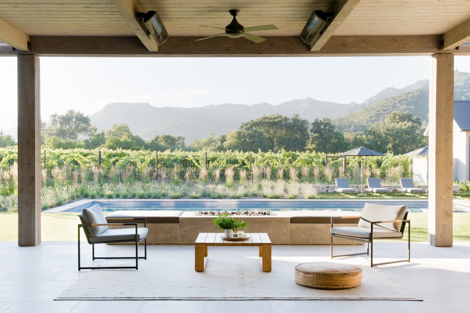 Calistoga Residence terrace