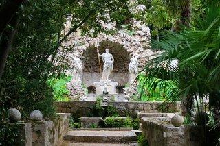 Trsteno Arboretum in Trsteno, Croatia—close to Dubrovnik—dates from the 15th century.