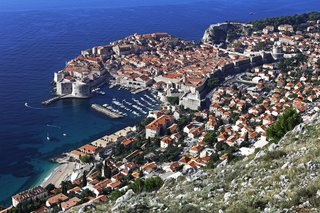 Set against the Adriatic Sea, Dubrovnik, in Southern Croatia, is famed for its Old Town encircled in 16th-century stone walls.