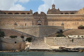 Fort Manoel on Manoel Island in Gżira, Malta,  was first built by the Knights in 1723.