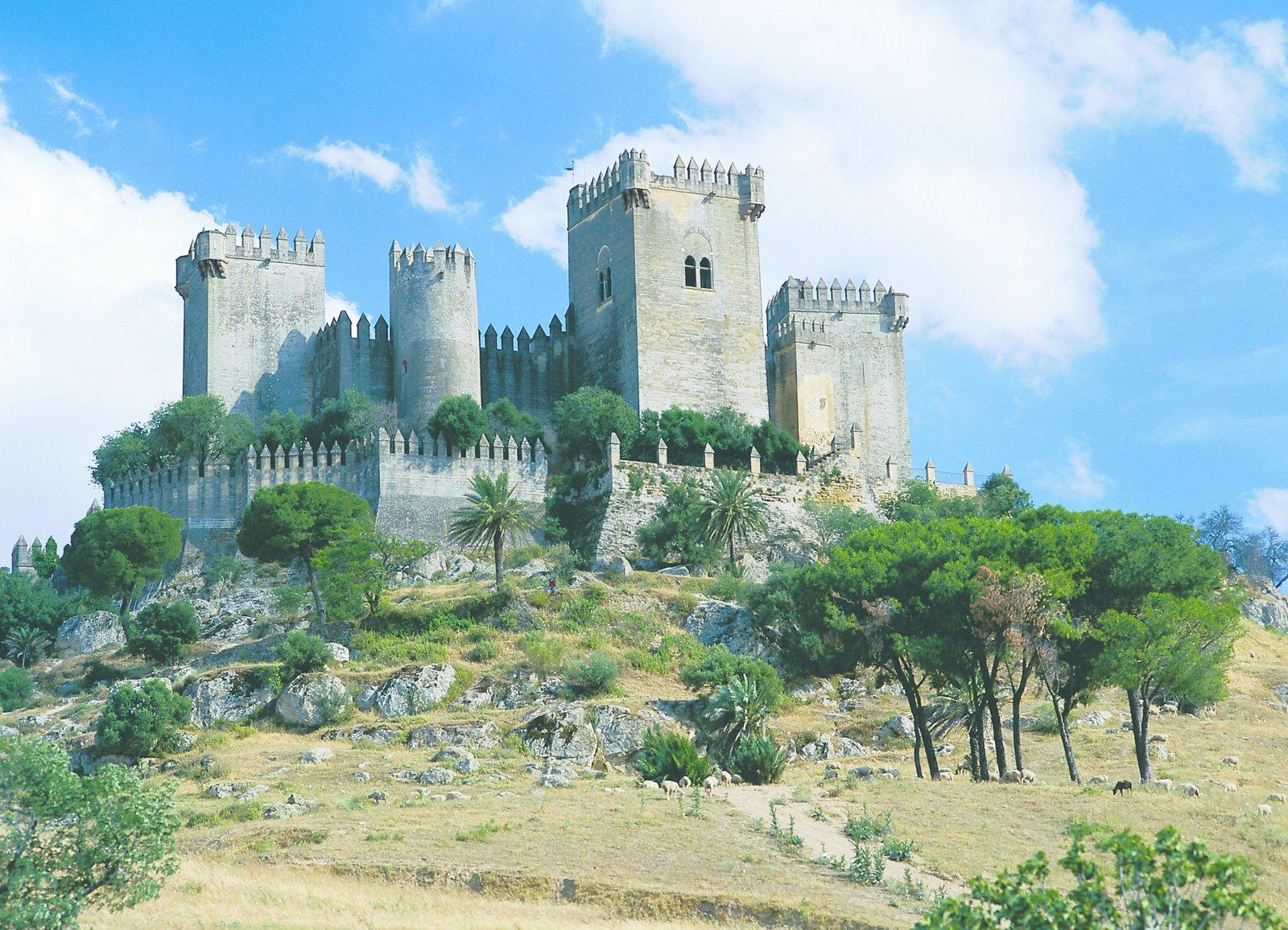 Castillo de Almodóvar del Río, Spain (Casterly Rock and Highgarden)