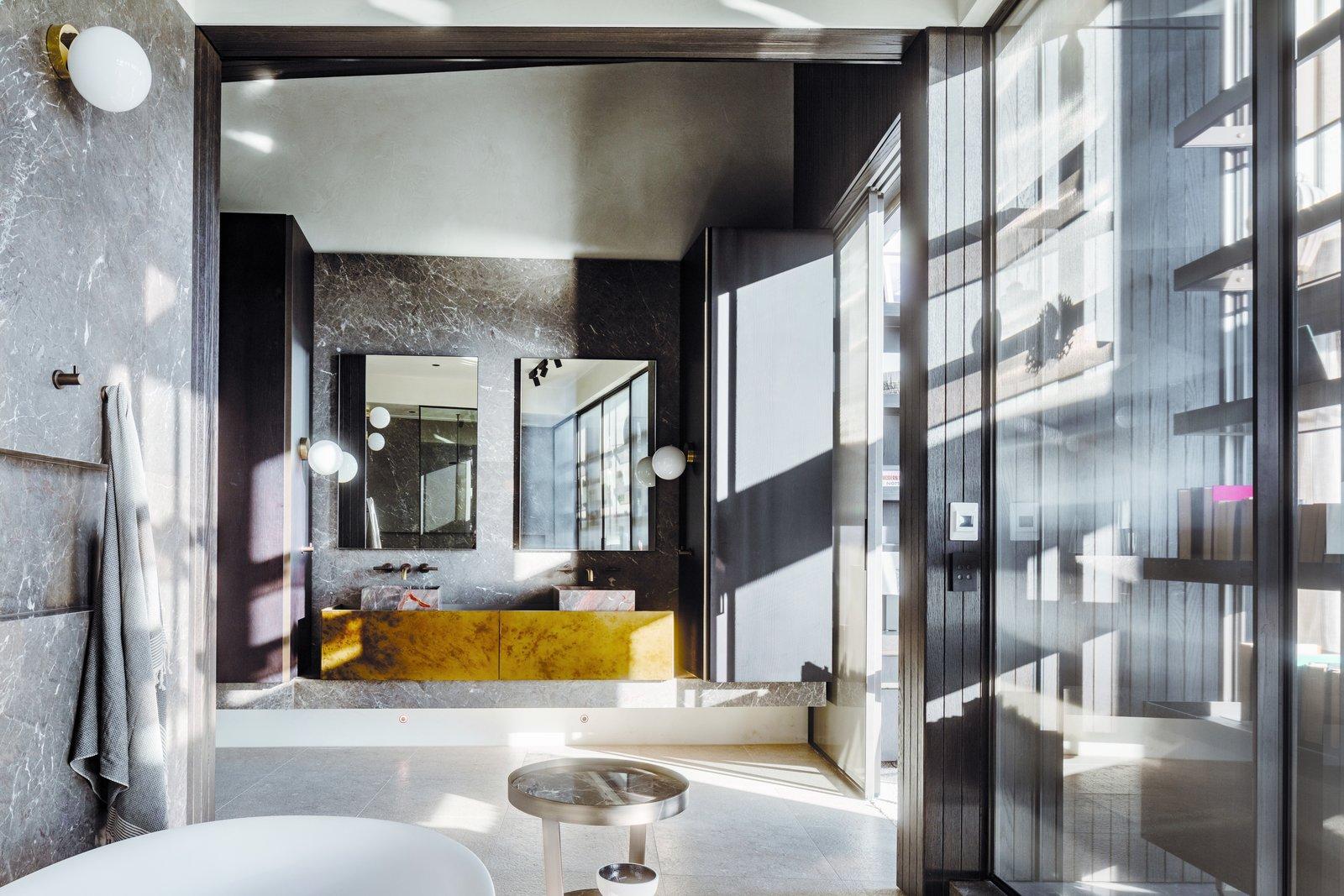 Tidal Arc House bathroom