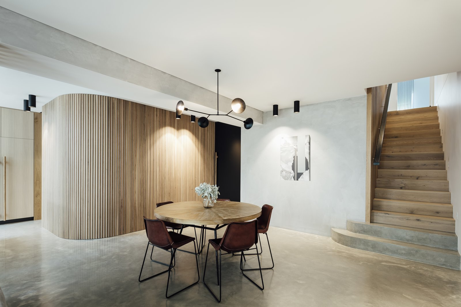 Triple Fronted Revival dining area