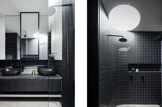 Best 60 Modern Bathroom Ceramic Tile Walls Design Photos