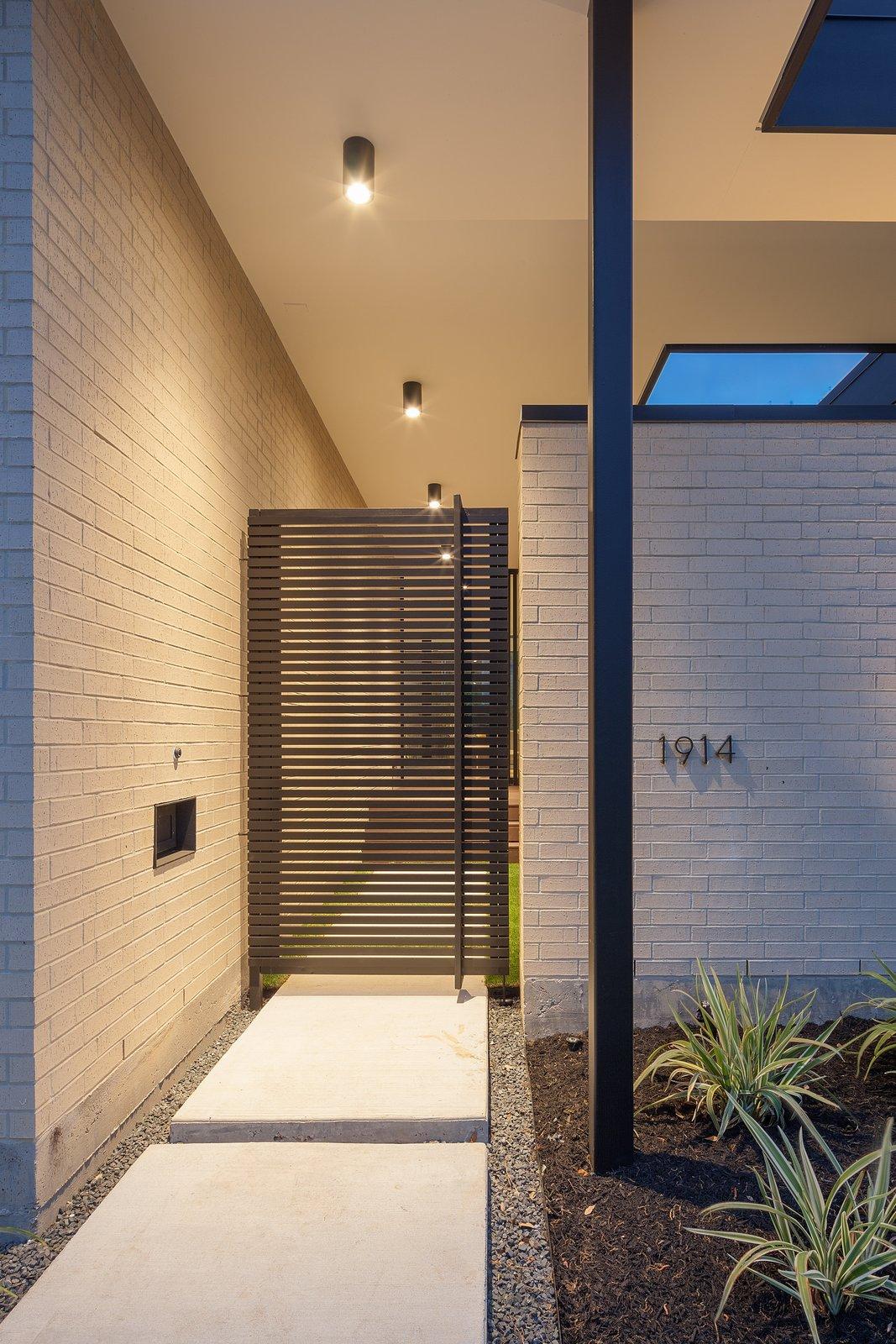 Pavilion Haus entry gate