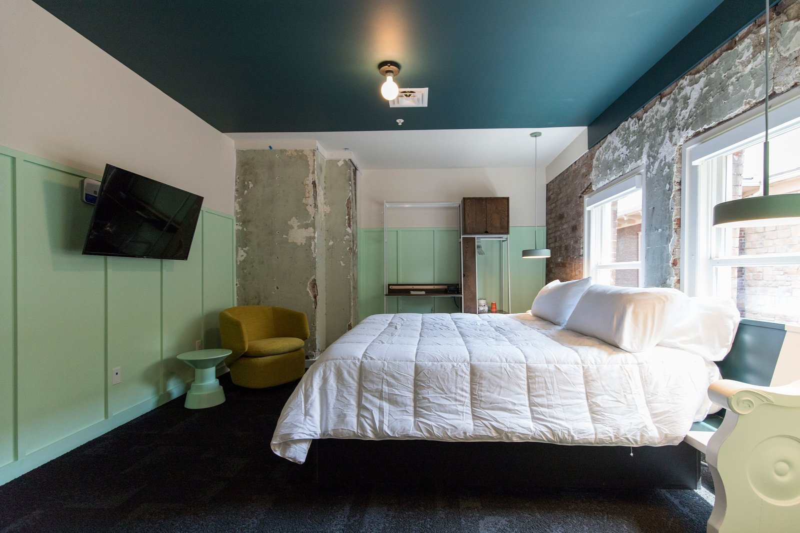 The Russell guest room