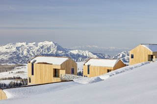 These Cabins in a Utah Ski Resort Are Designed to Help Spark Social Change