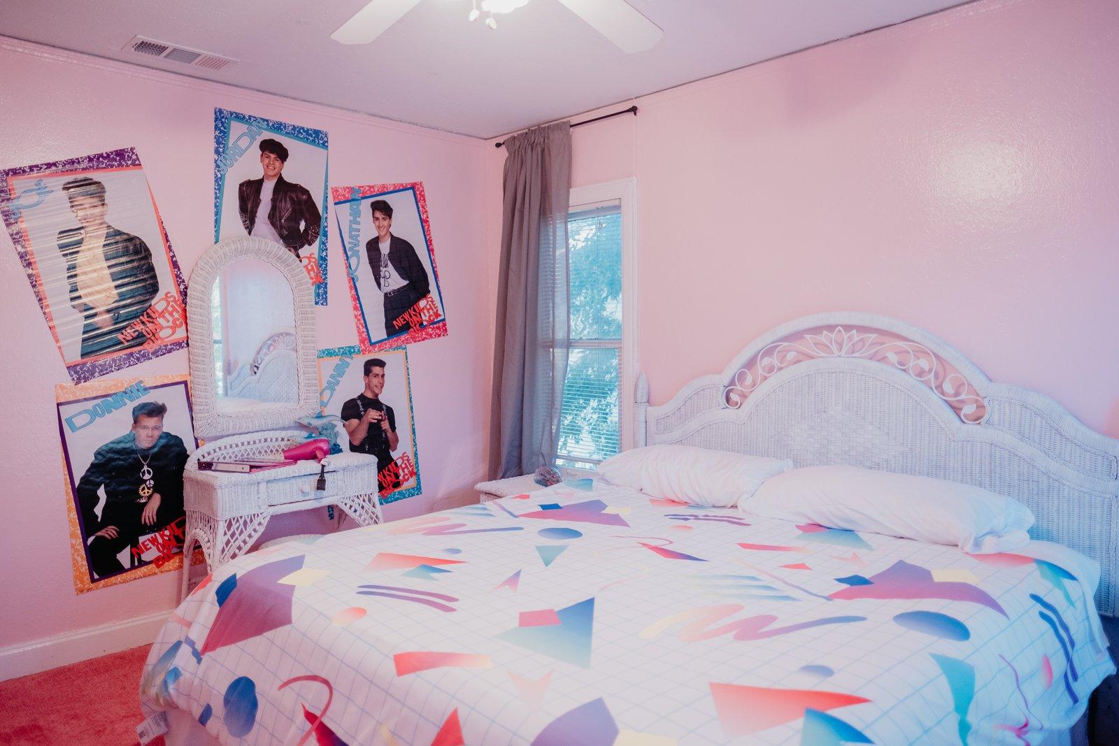 The Slater Airbnb Jeremy Kelsey Turner bedroom
