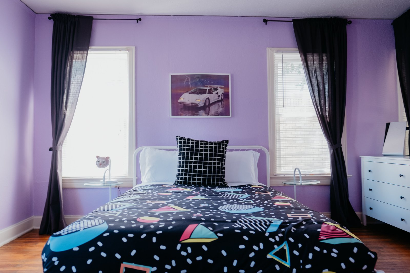The McFly Airbnb Jeremy Kelsey Turner bedroom