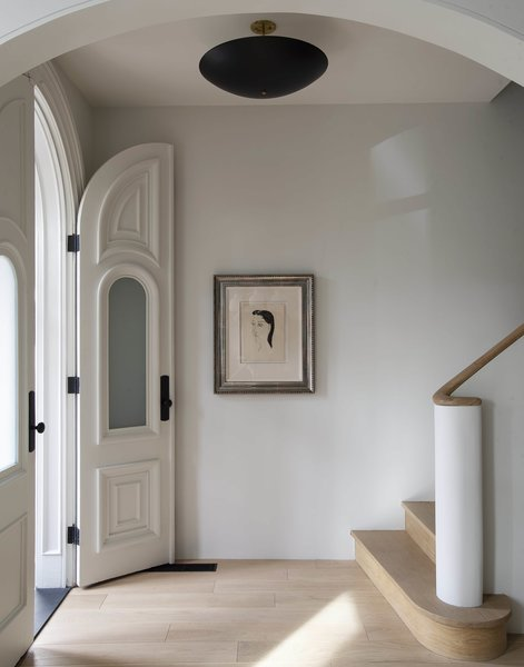 A calming vibe is immediately instilled at the entry.