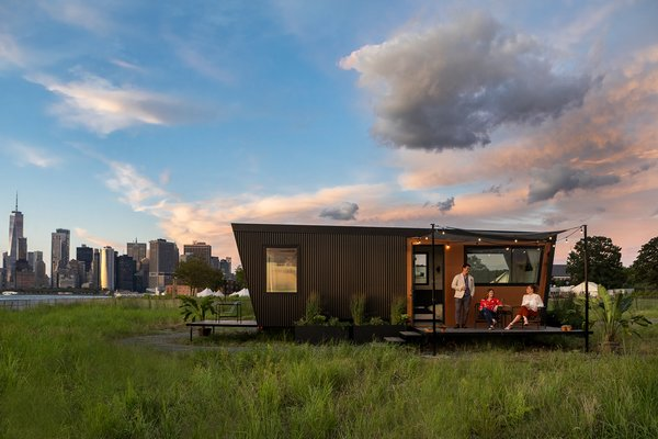 Spend the Night in a Swank, Modular Hotel Room on Governors Island