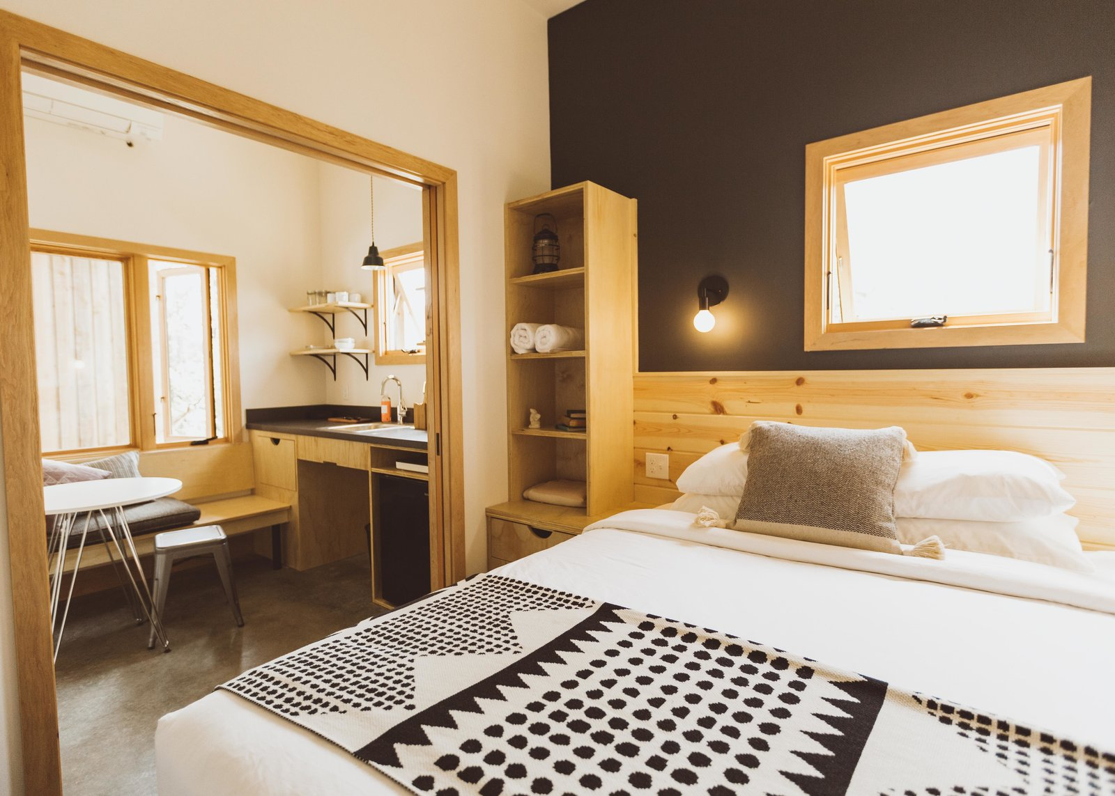 Society Hotel Bingen Waechter Architecture bedroom