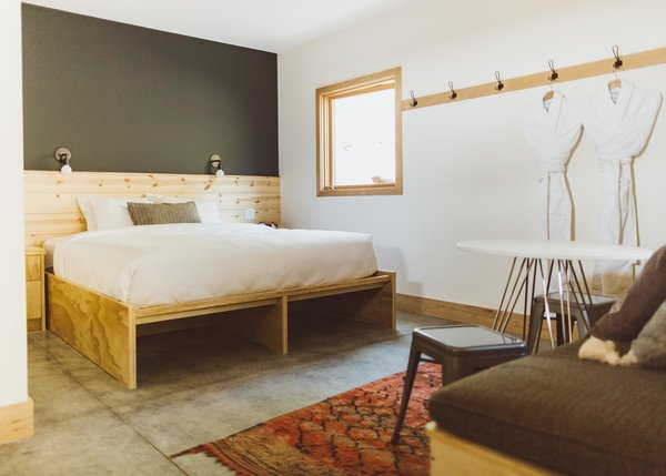 Best 60+ Modern Bedroom Concrete Floors Design Photos And ...