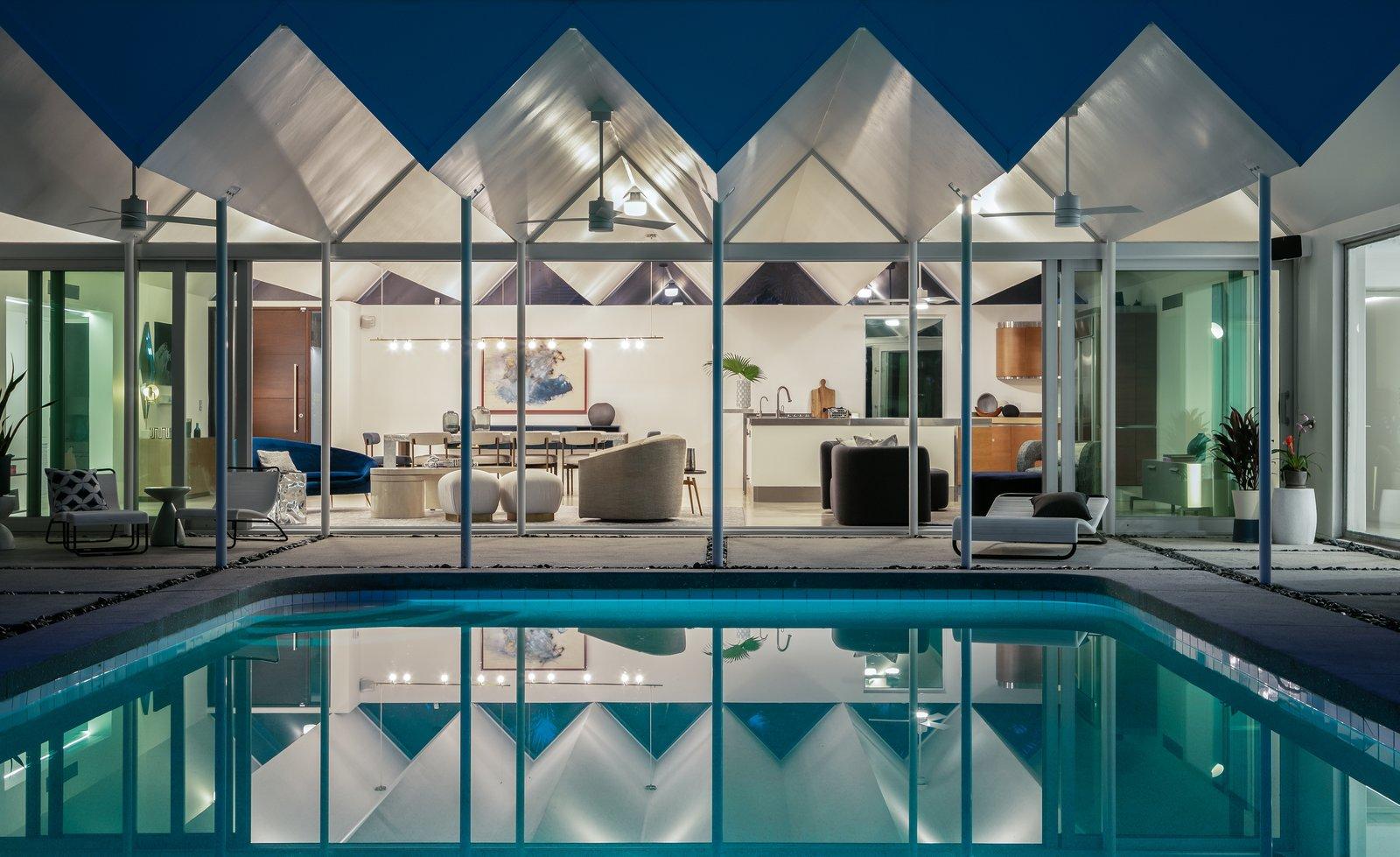 Arguedas House pool