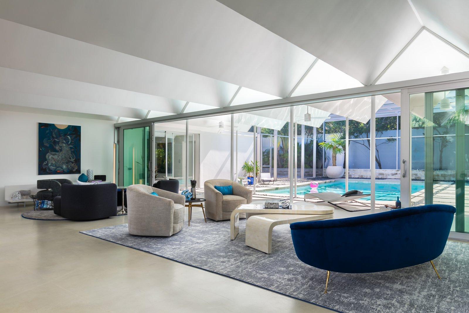 Arguedas House living area