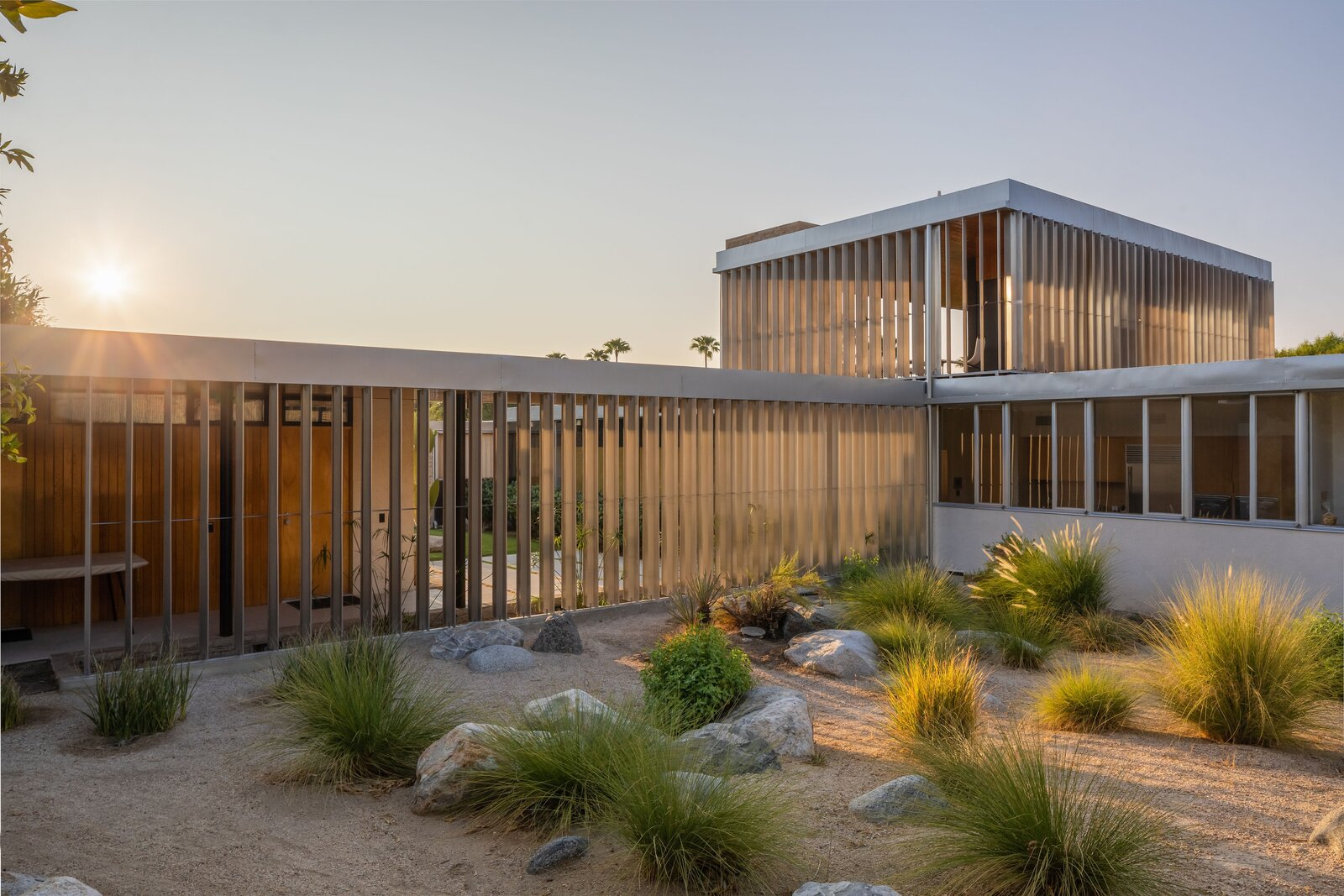 Kaufmann Desert House exterior