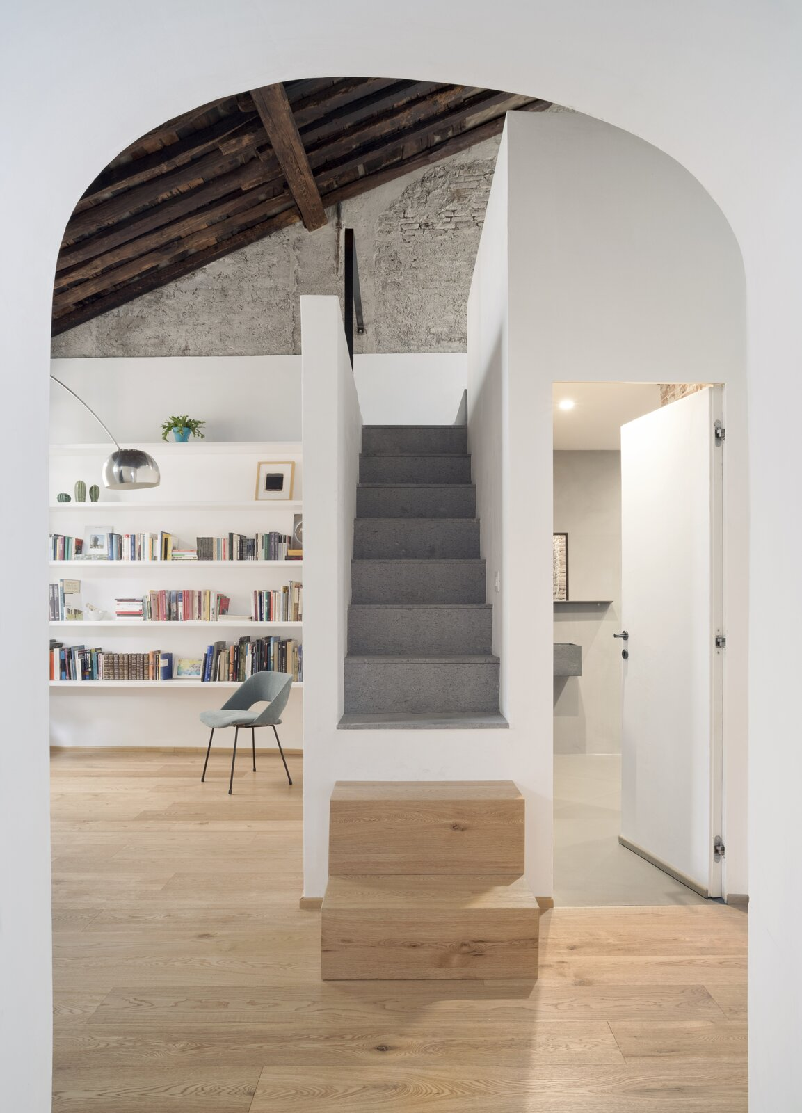 House for a Sea Dog staircase