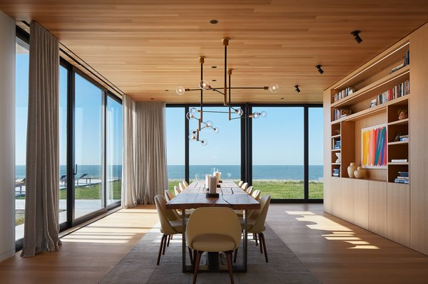 Dining Room looking West towards Lake Michigan
