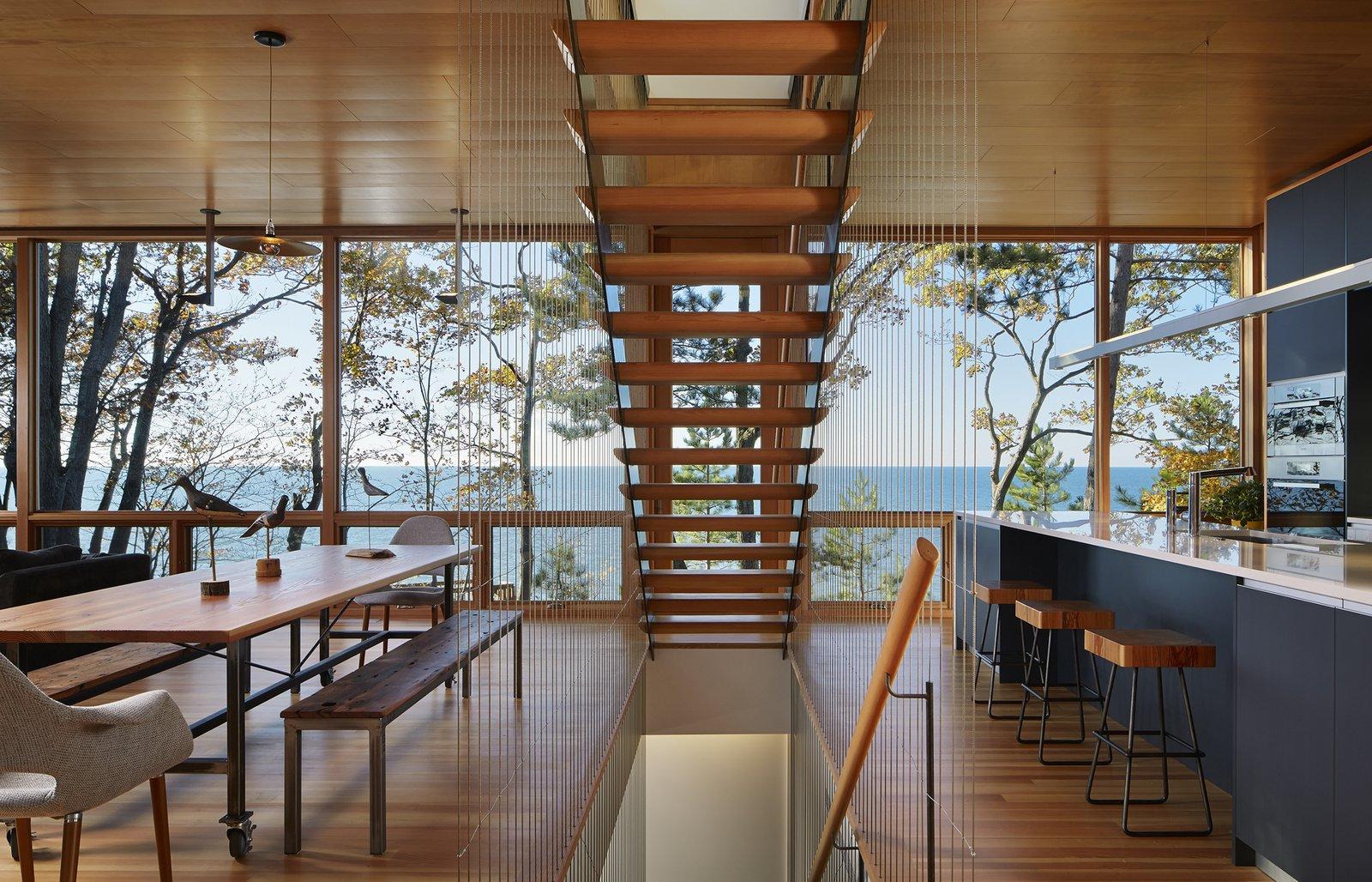 Suns End Retreat dining area