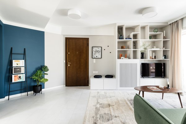 Photo 2 Of 22 In Modern 60 S Apartment Athens By 3nk Engineers Architects Dwell