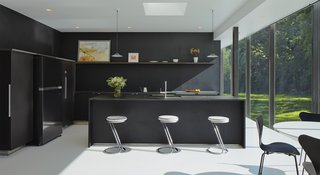 5 Homes With Sleek Black Kitchens Dwell