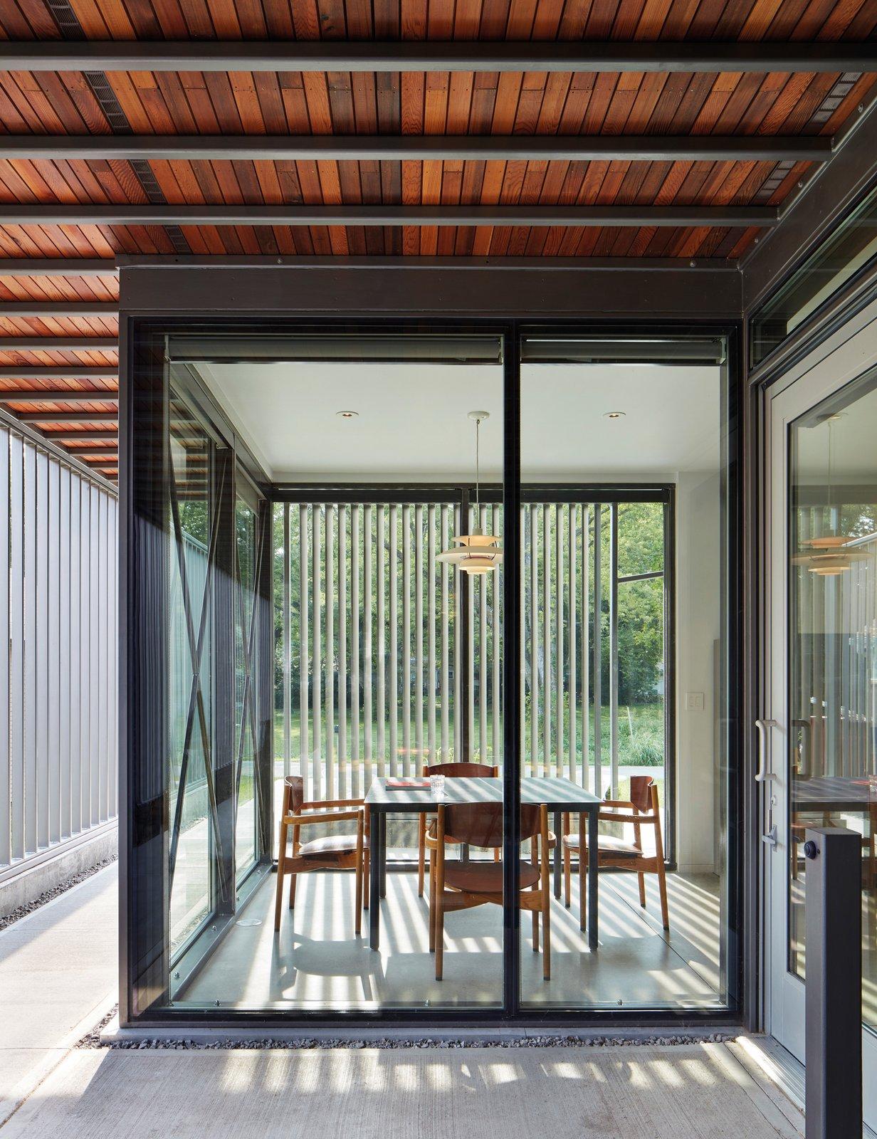 1330 Brook Street House dining room
