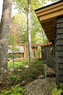 Cedar Shakes and Vertical Siding