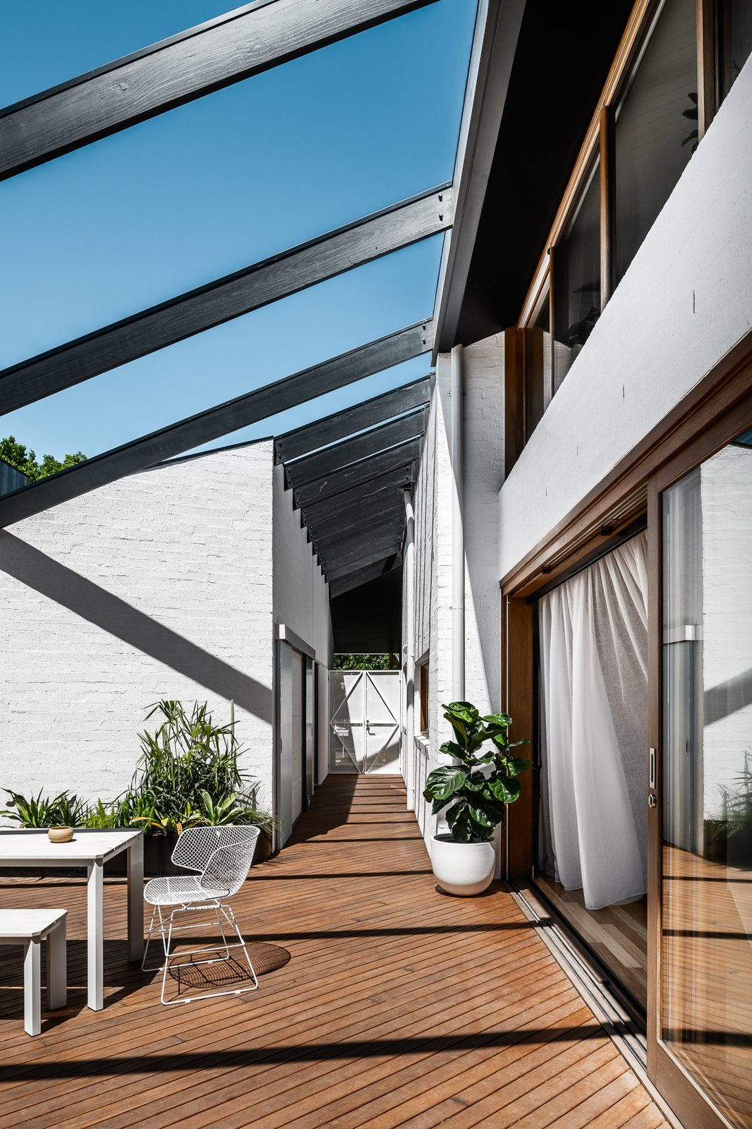 Northcote House deck