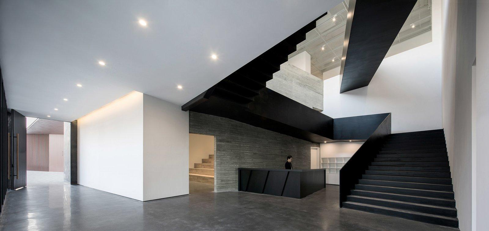 Foyer and atrium  ZHI ART MUSEUM