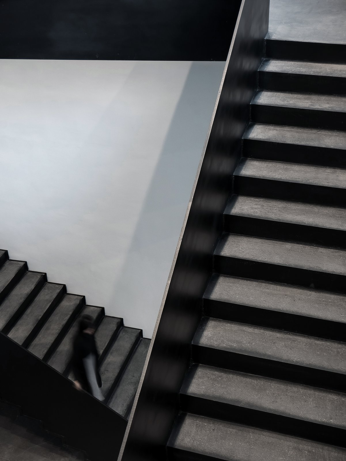 The interlaced staircase  ZHI ART MUSEUM