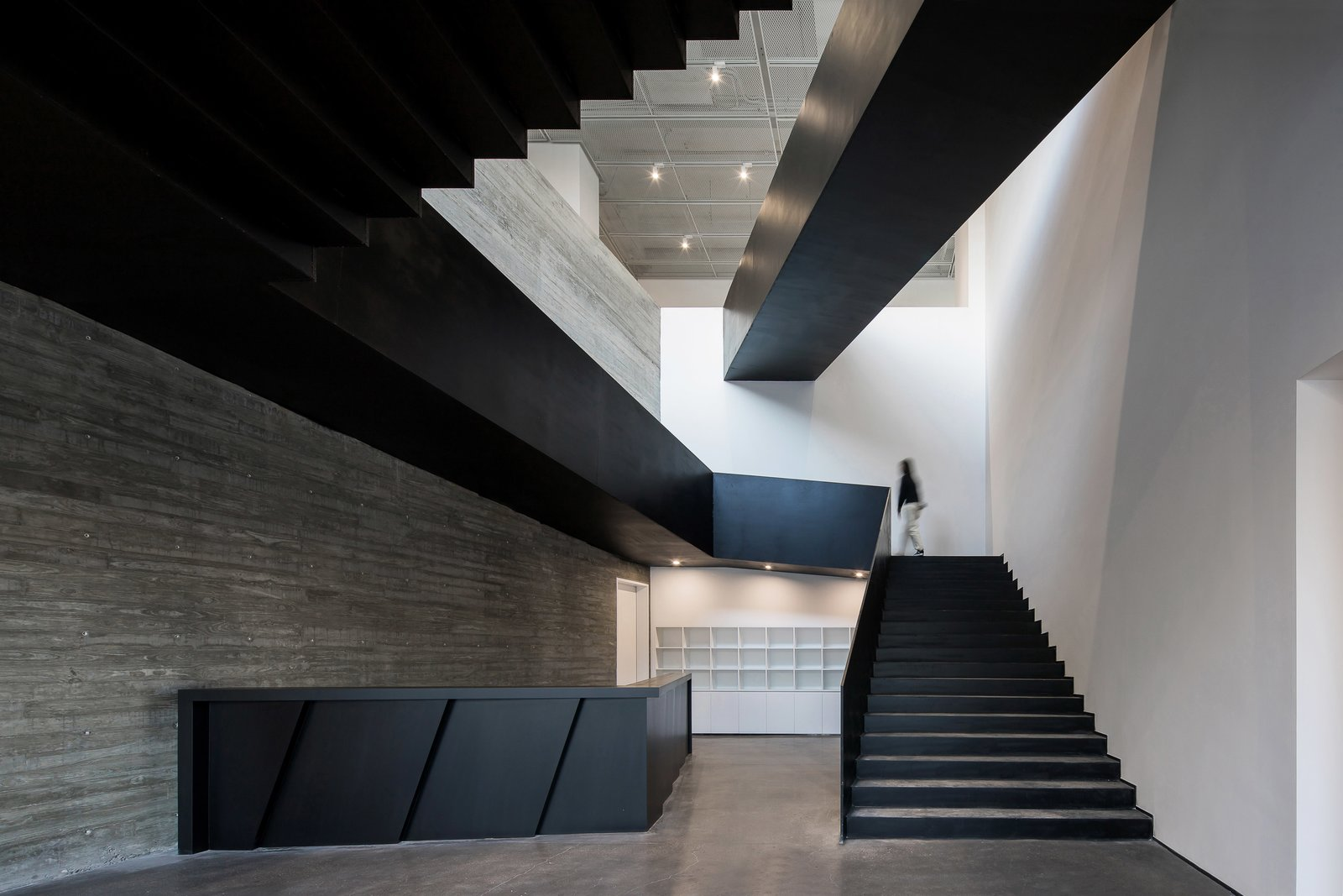 Reception and staircase  ZHI ART MUSEUM