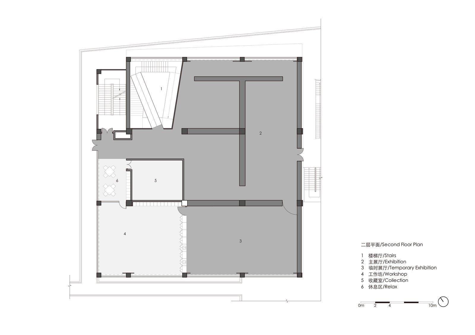 Second floor plan  ZHI ART MUSEUM