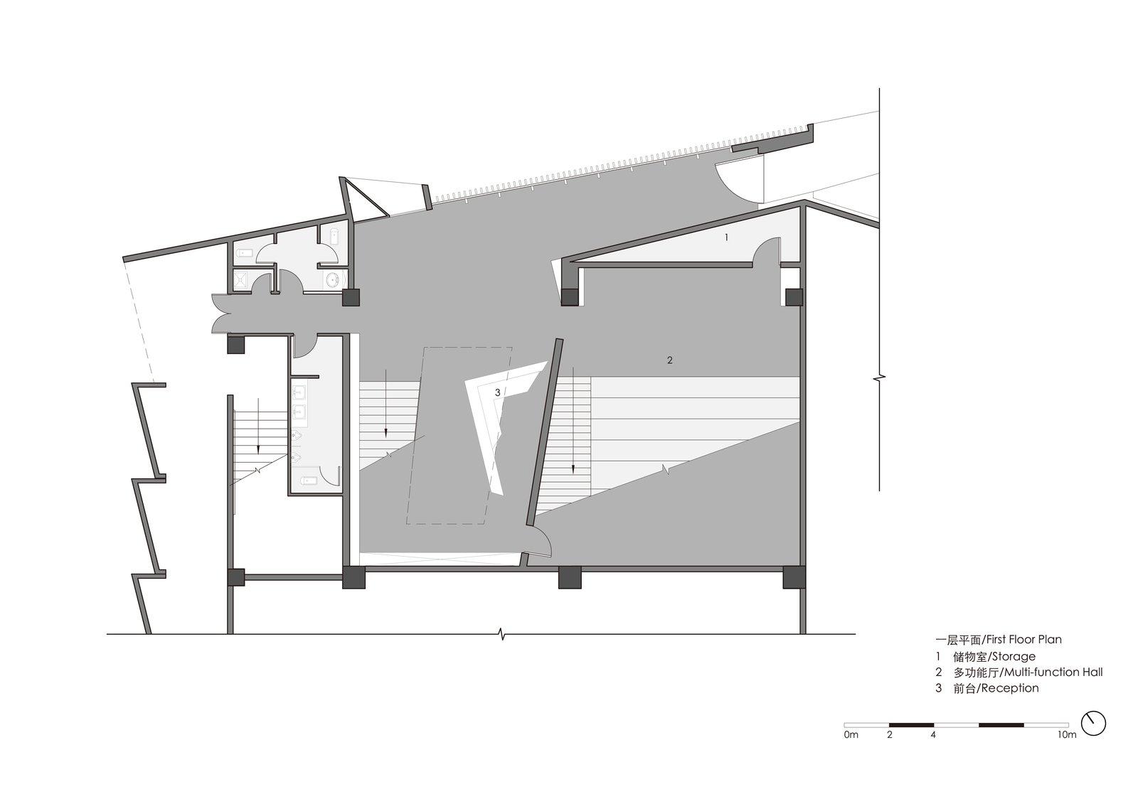 First floor plan  ZHI ART MUSEUM
