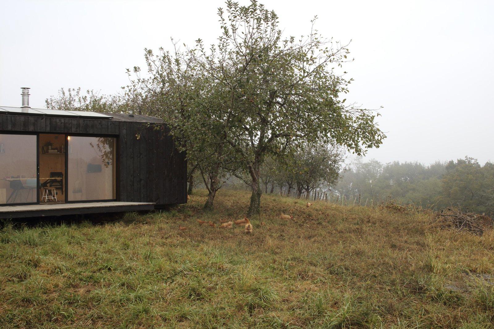 Heva Cabin exterior
