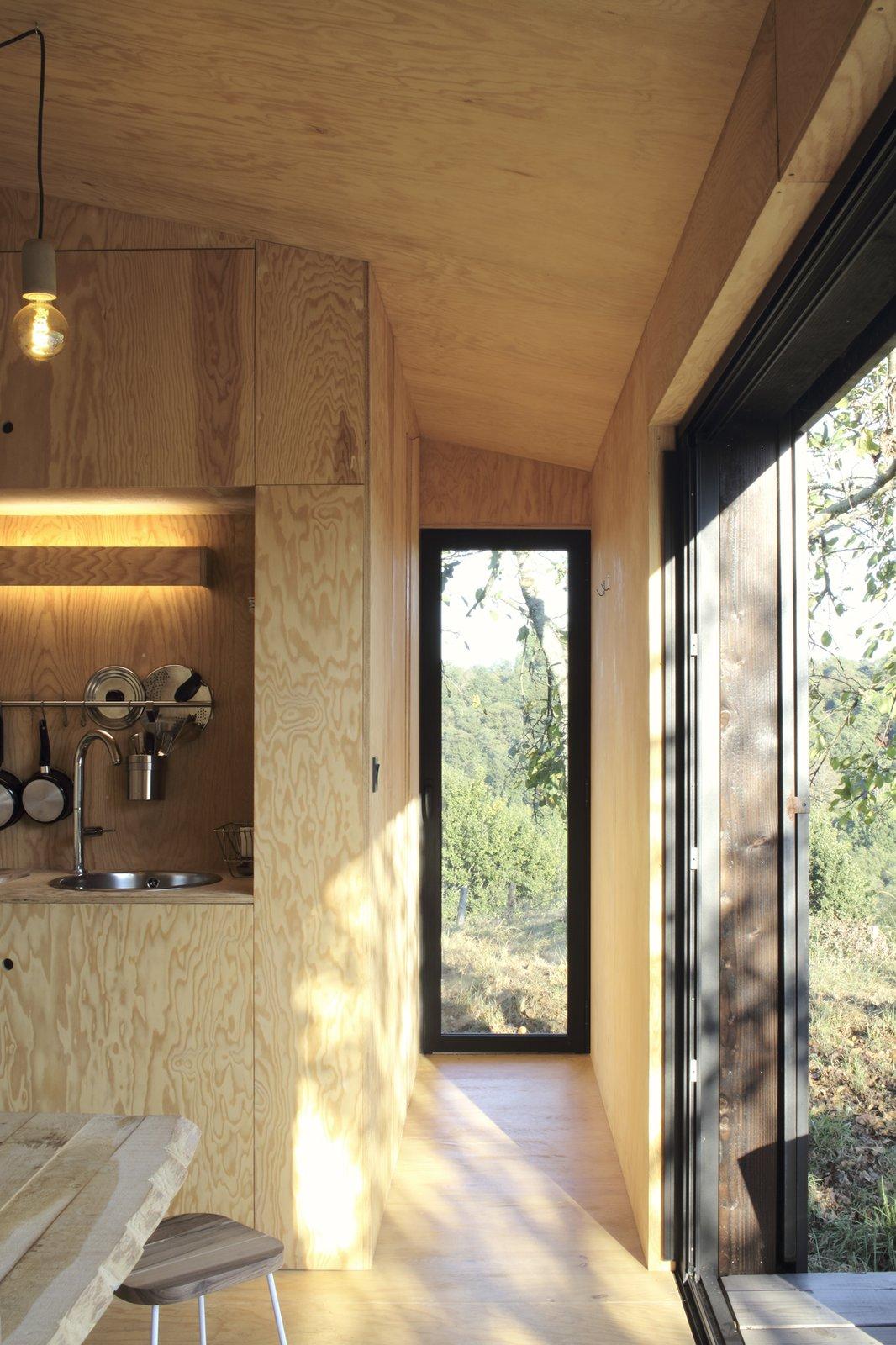Heva Cabin interior