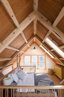 Timberframed loft