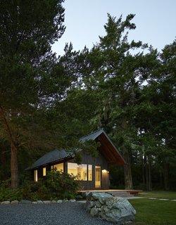 Sleeping Cabin at dawn.