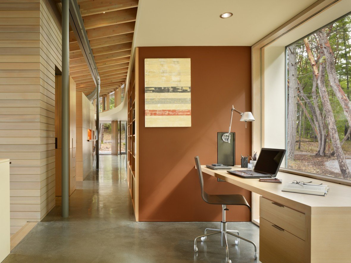 Modern Home Office Ideas Suncrest Residence Heliotrope Architects