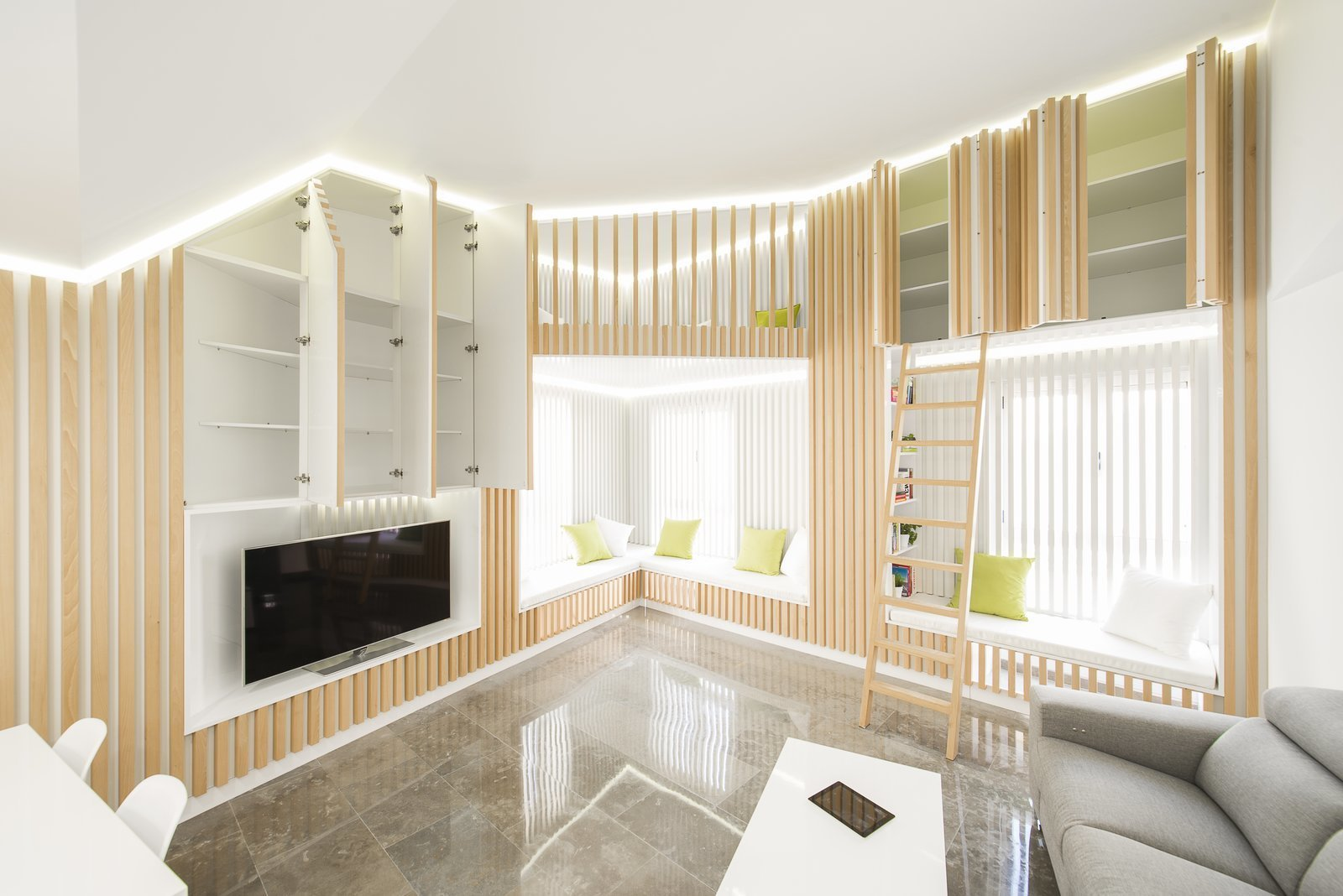 This Crisp Spanish Dwelling Makes Use of Every Nook and Cranny