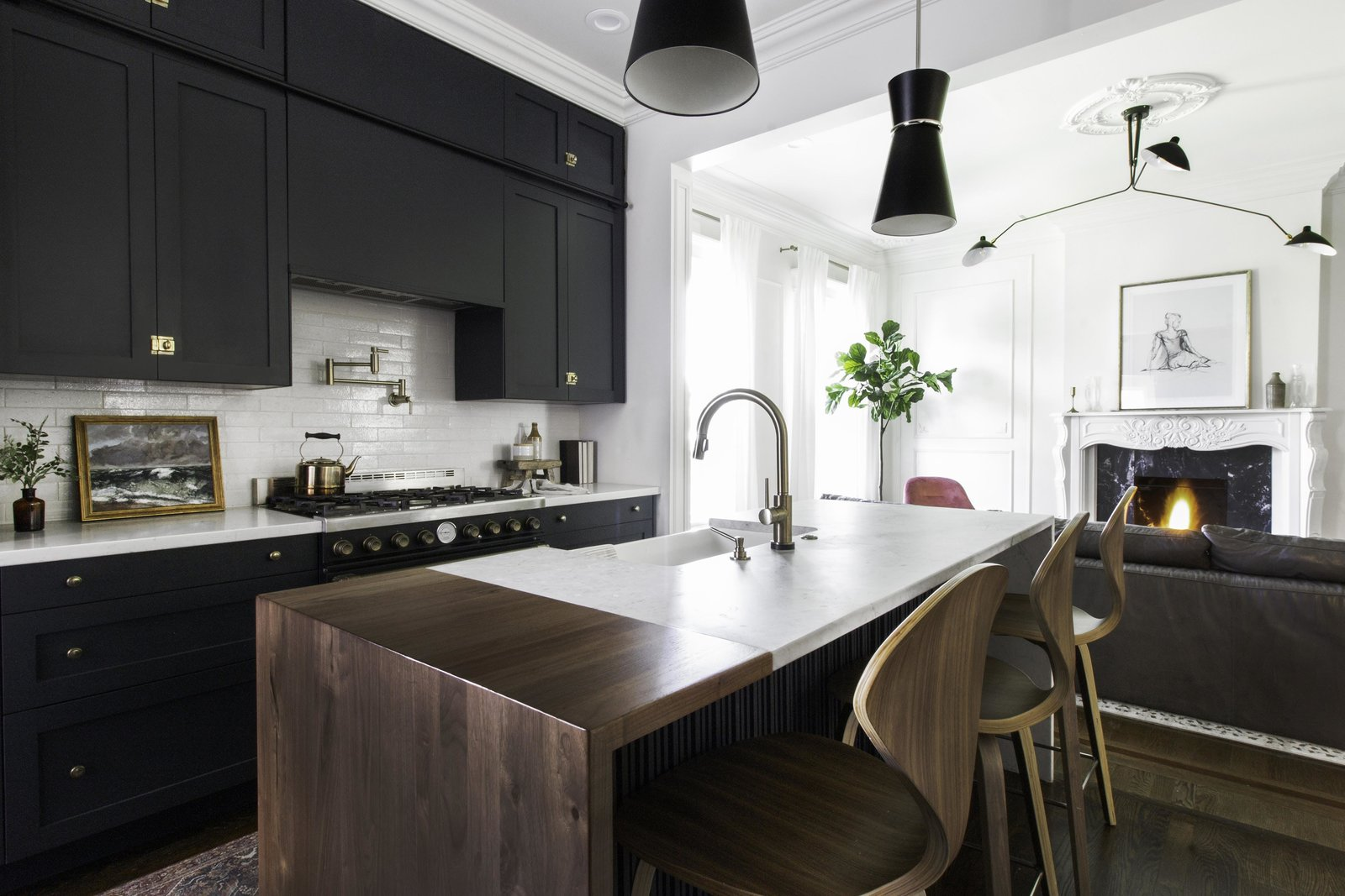 Before and After: A Victorian Kitchen Gets a Fresh Look With a Smart IKEA Hack