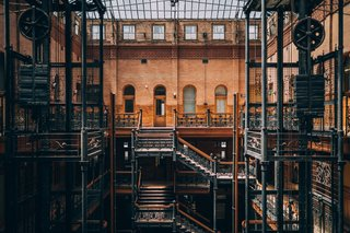 Upscale Coworking Company NeueHouse Moves Into L.A.'s Historic Bradbury Building