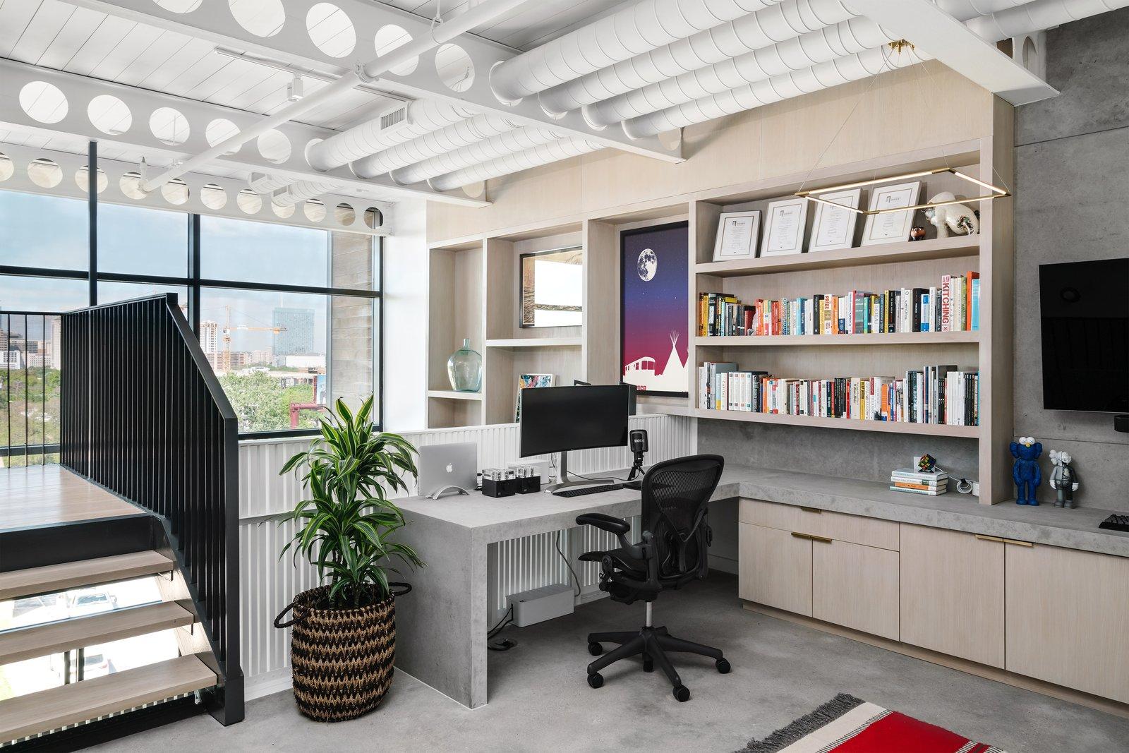 Before: Eva St. Loft office