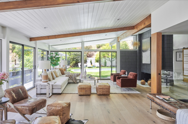Before & After: An Enterprising Couple Revive a Dated Midcentury in the Hollywood Hills