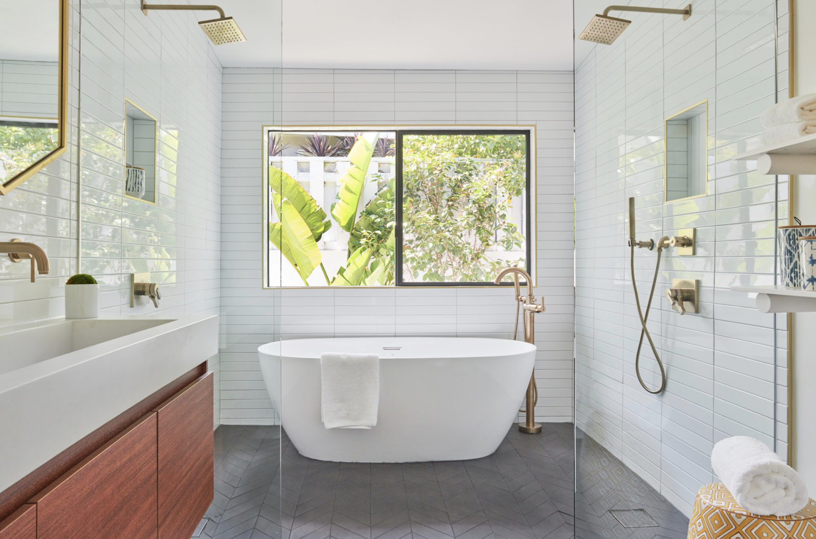 Outpost Estates midcentury remodel bathroom