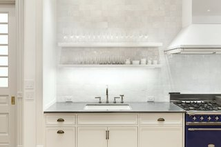 Modern Kitchen Subway Tile Backsplashes