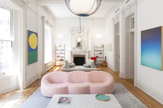 A 19th-Century Apartment in Manhattan Gets a Kid-Friendly Upgrade