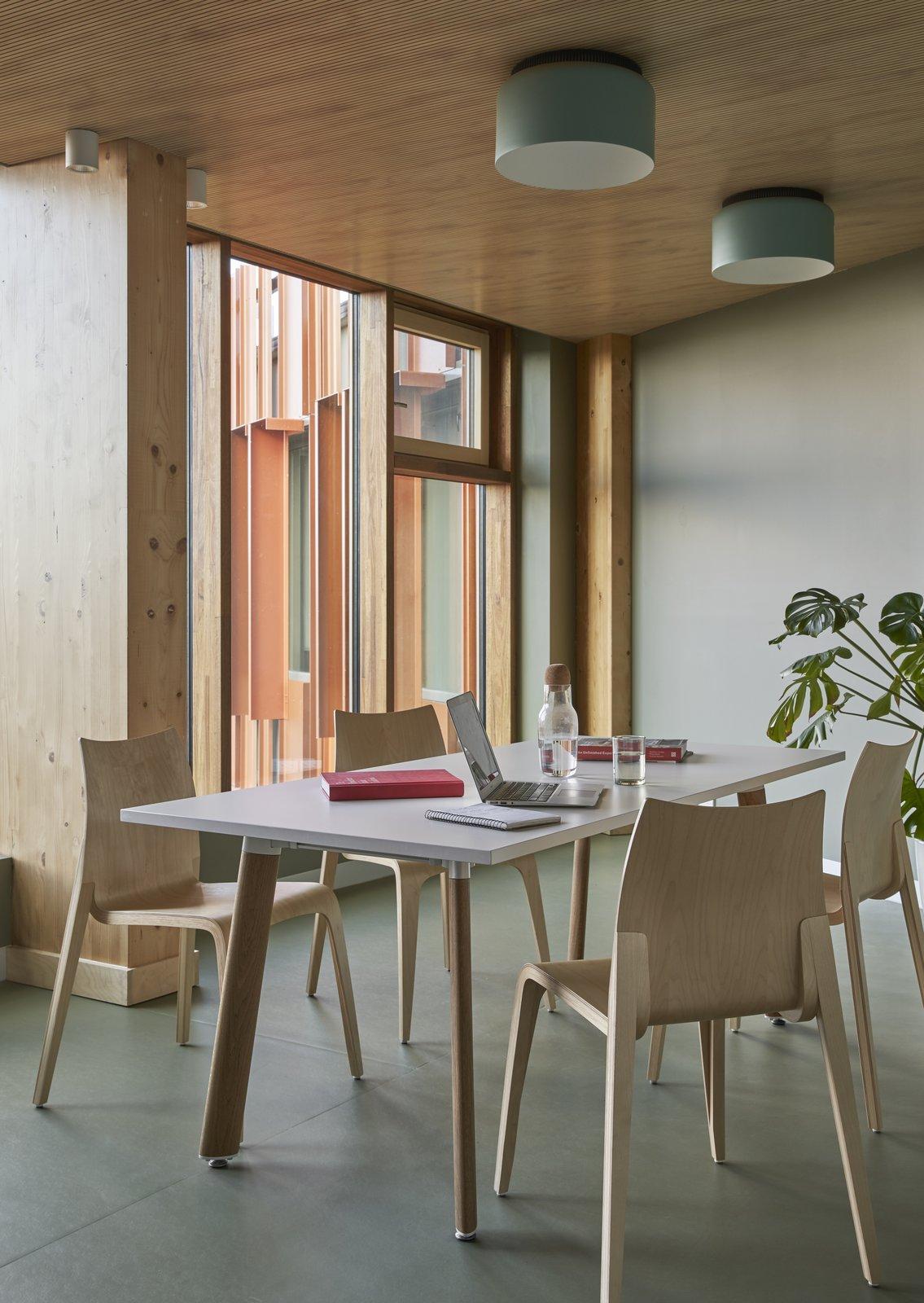 Gillies Hall at Monash University by JCB Architects study area